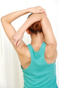 Shoulder stretching